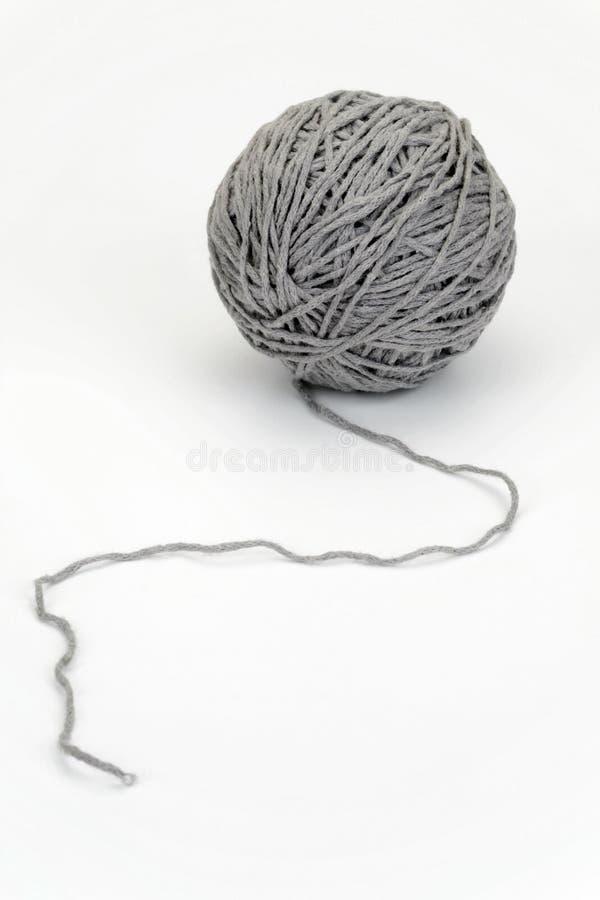 Yarn ball stock photography