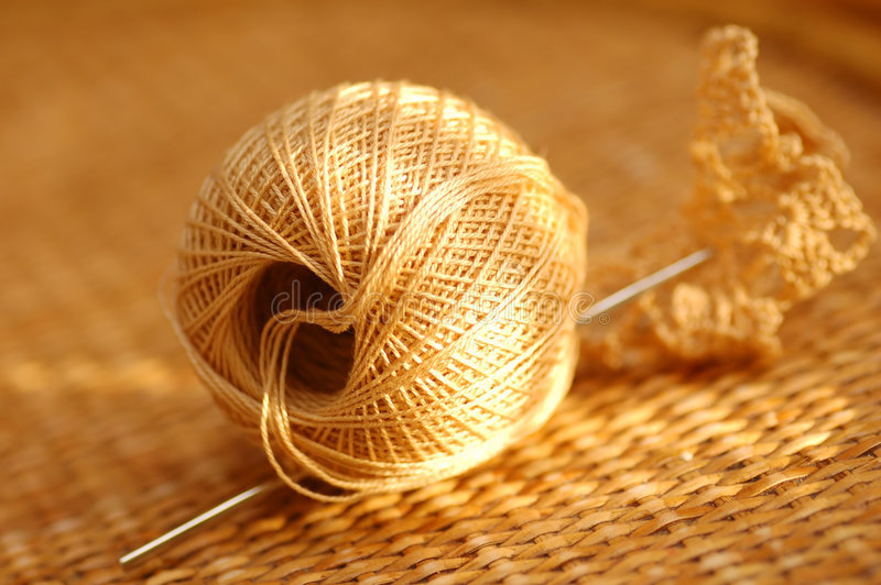 Download Yarn ball stock photo. Image of knitting, ball, tissue - 1605566