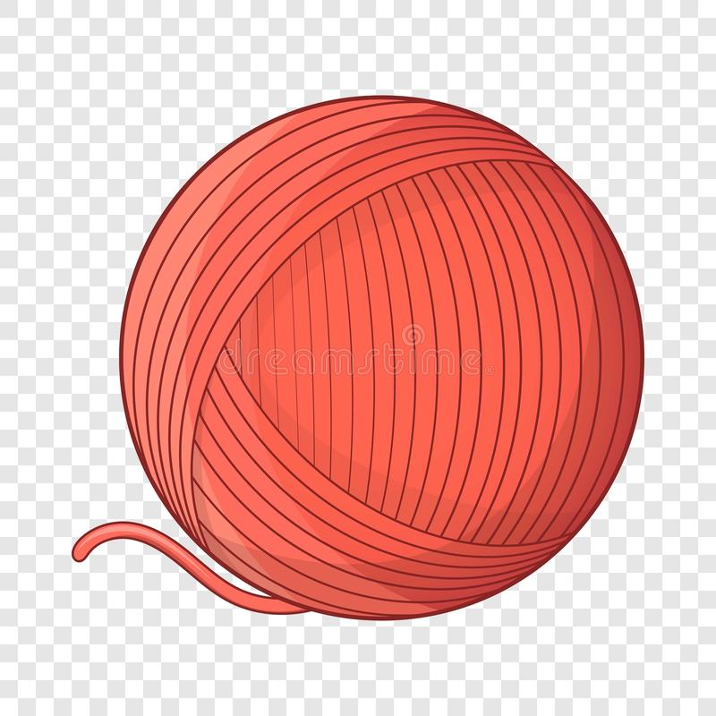 Free Yarn Ball Toy For Cat Icon, Cartoon Style Royalty Free Stock Photo - 148438855