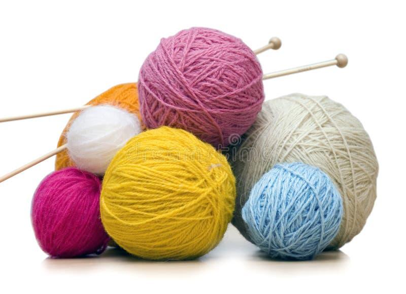 Yarn balls royalty free stock photography