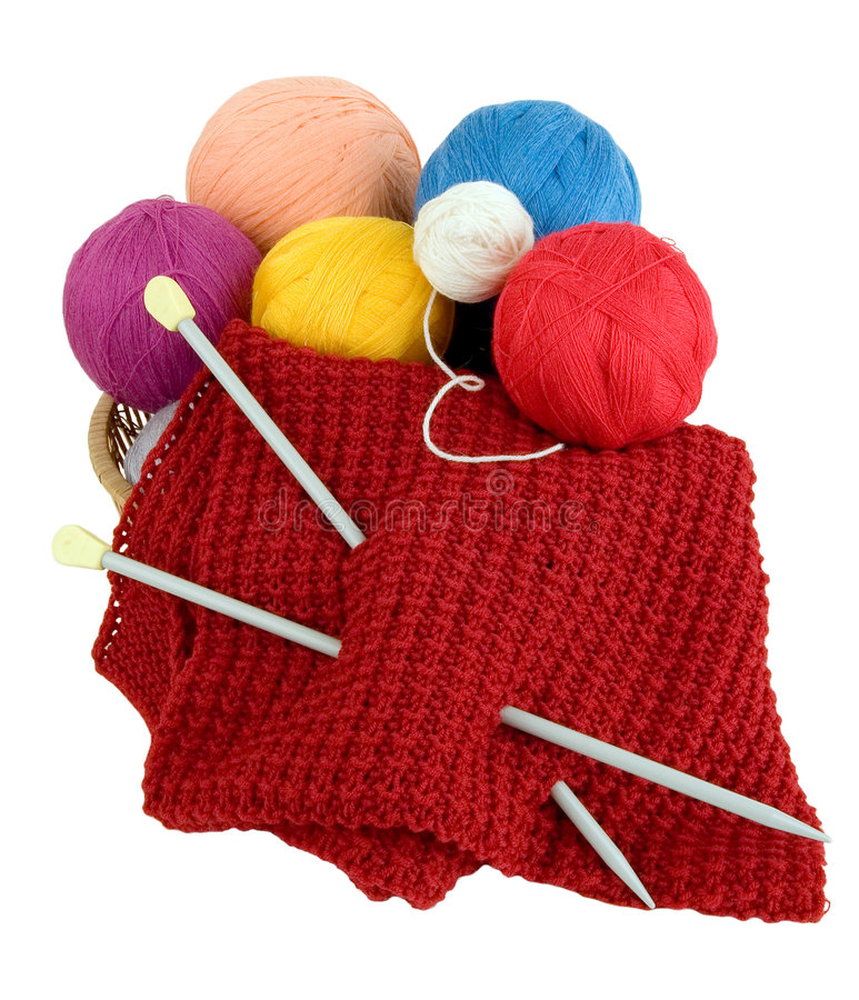 Download Yarn for knitting stock image. Image of floss, manual - 3786313