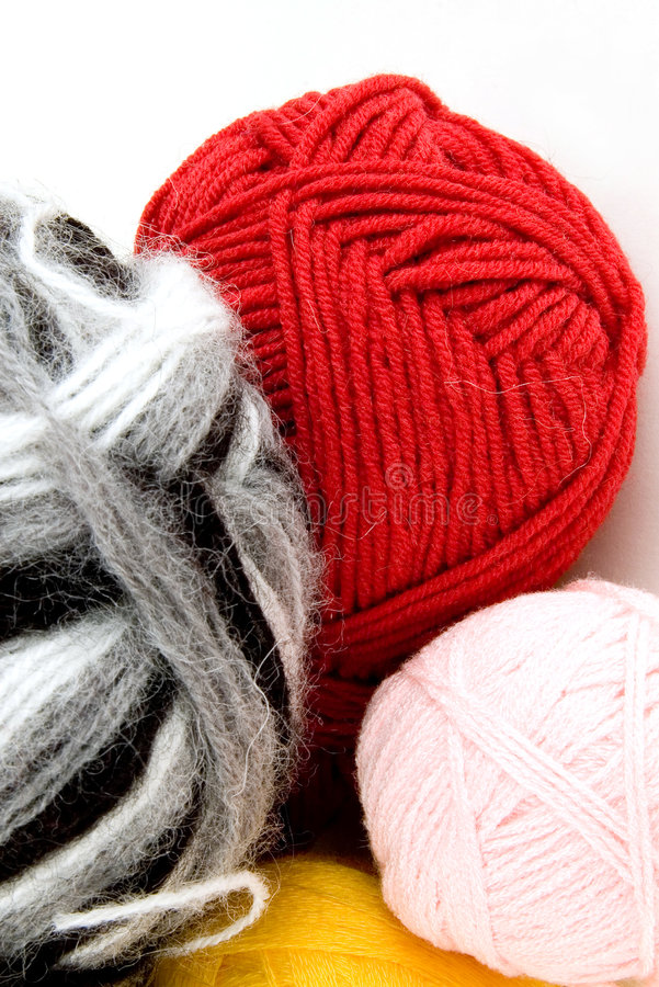 Download Yarn for knitting stock photo. Image of natural, needlework - 3786350