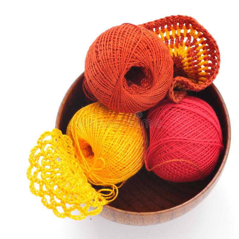 Download Yarn For Knitting And Cloth Stock Photo - Image of objects, cotton: 26733824