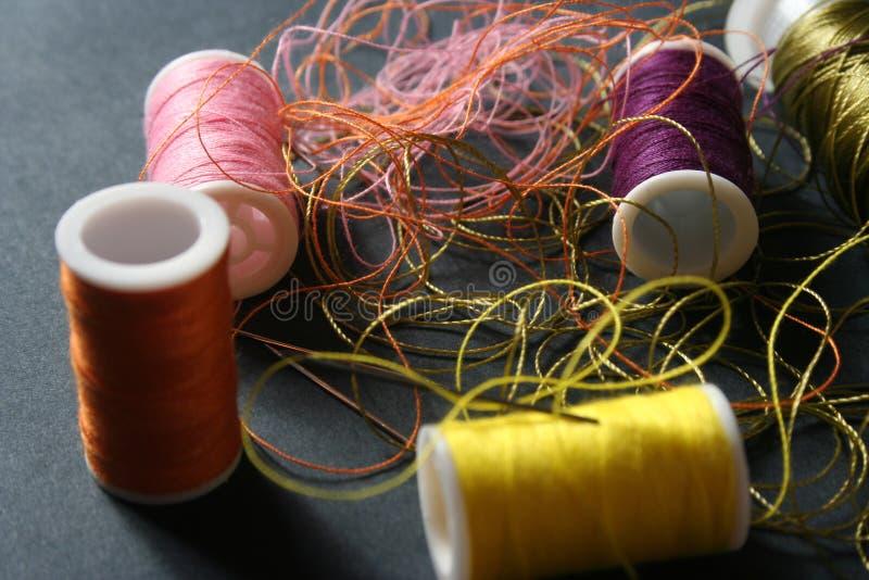 Yarn needle stock photo