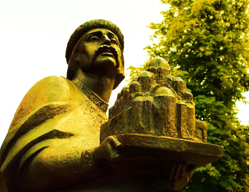 Yaroslav das kluge Prinz von Kyiv Monarch von Jahrhundert Kyiv Rus X lizenzfreies stockfoto