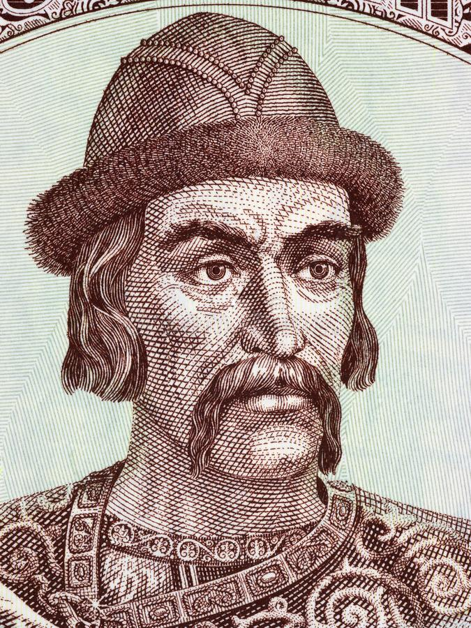 Yaroslav Mądry portret zdjęcia royalty free