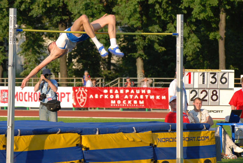 Yaroslav Rybakov, high hump stock image
