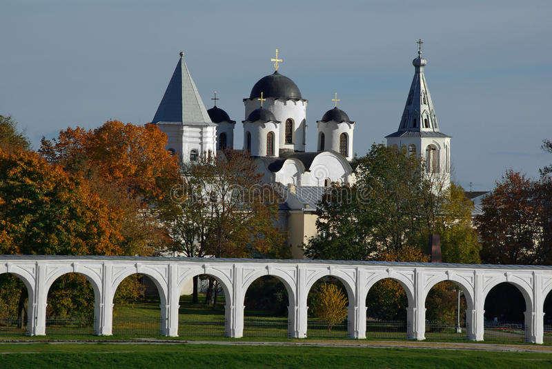 Download Yaroslav's Court stock image. Image of church, architecture - 24368391