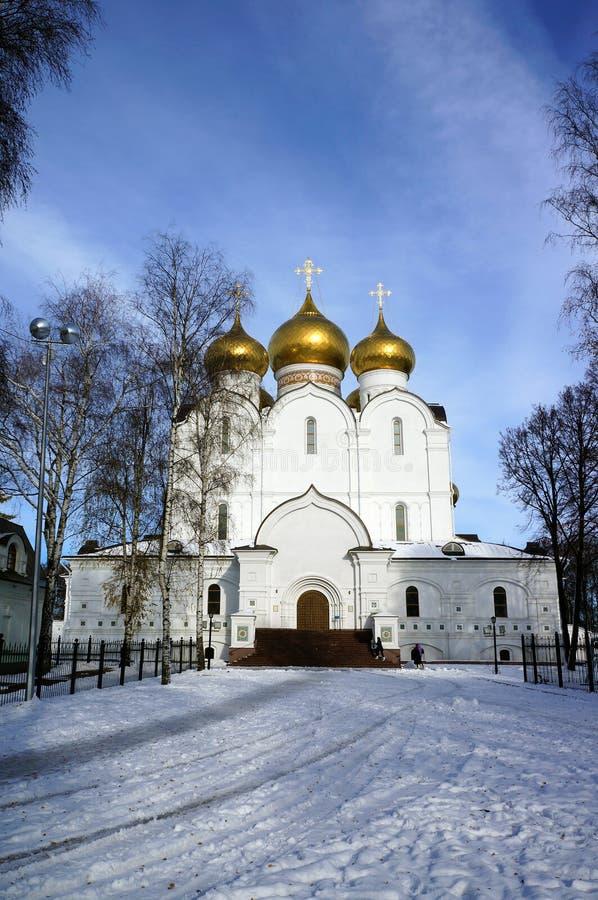 Yaroslavl, cathedral stock image