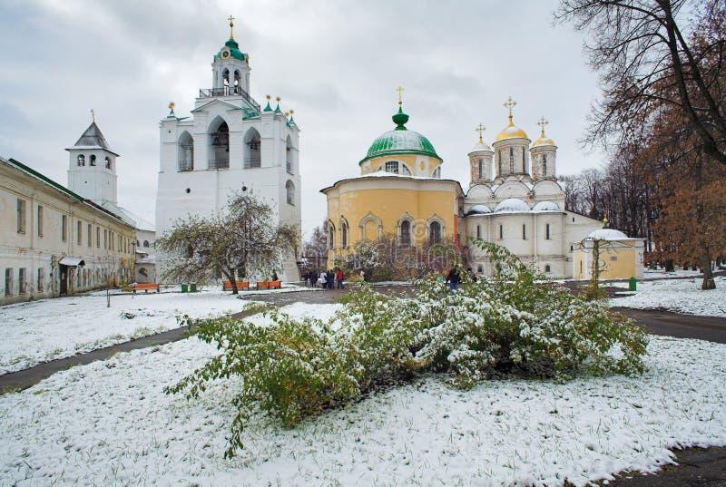 yaroslavl för klockstapeldomkyrkakyrka arkivbilder