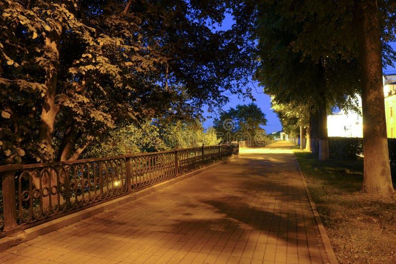 Yaroslavl noc obrazy royalty free