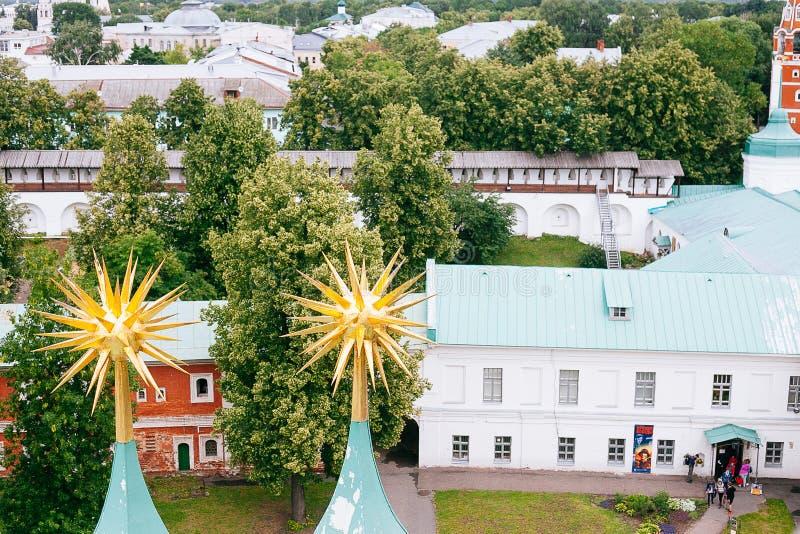YAROSLAVL, RUSSLAND - 26. JUNI 2015: Yaroslavl ist eine der ältesten russischen Städte, gegründet im Jahrhundert XI Die Museum-Re stockbilder