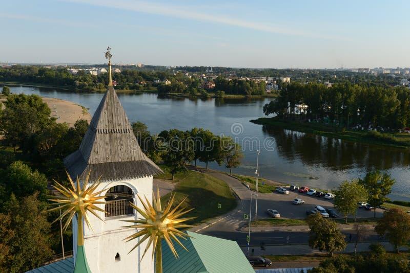 yaroslavl Visión desde la torre de alarma imagen de archivo libre de regalías