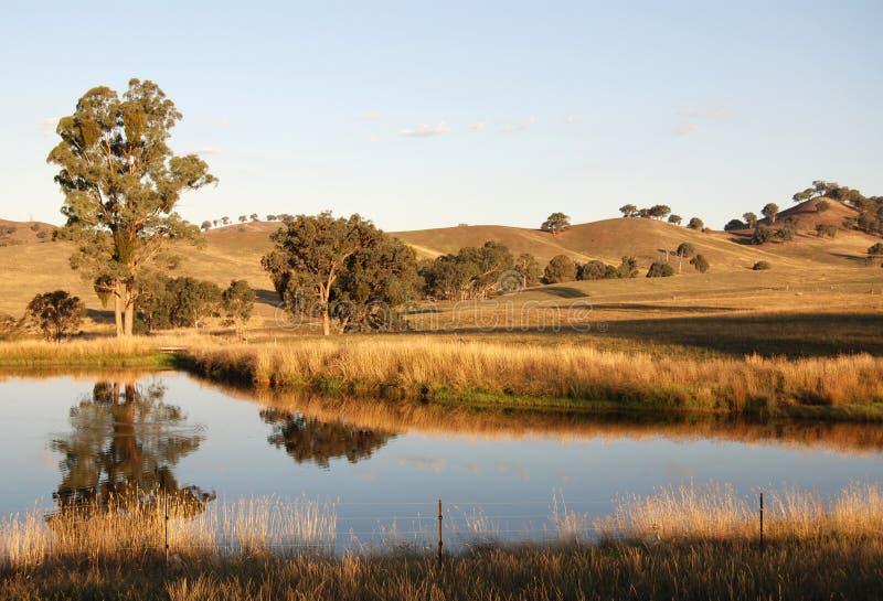 yarra долины стоковое изображение rf
