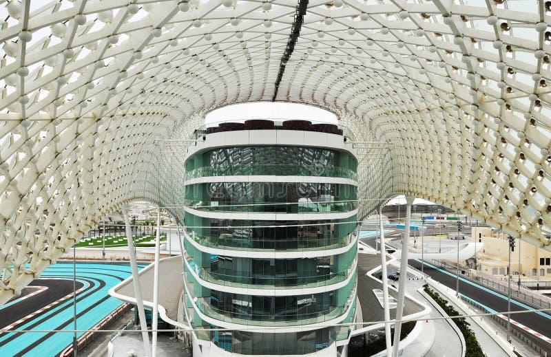 Yas Hotel, Yas Island, Abu Dhabi royalty free stock images