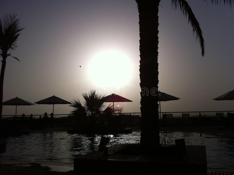 Yas-Insel, UAE lizenzfreie stockbilder