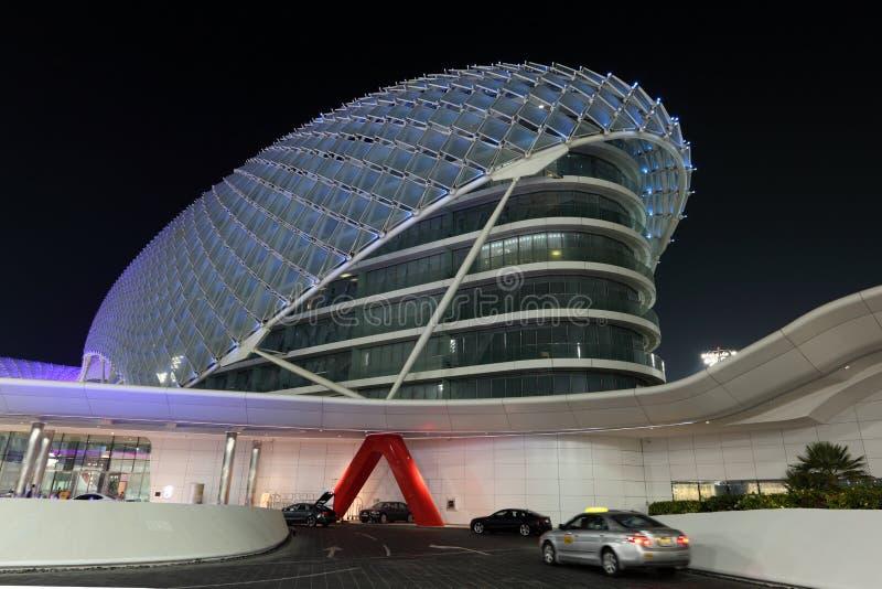 Yas Marina Hotel, Abu Dhabi zdjęcie royalty free