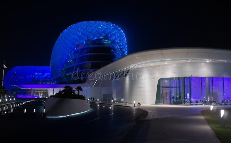 YAS Marina Hotel, Abu Dhabi Stock Images