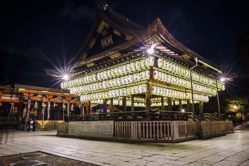 Yasaka寺庙 免版税库存图片