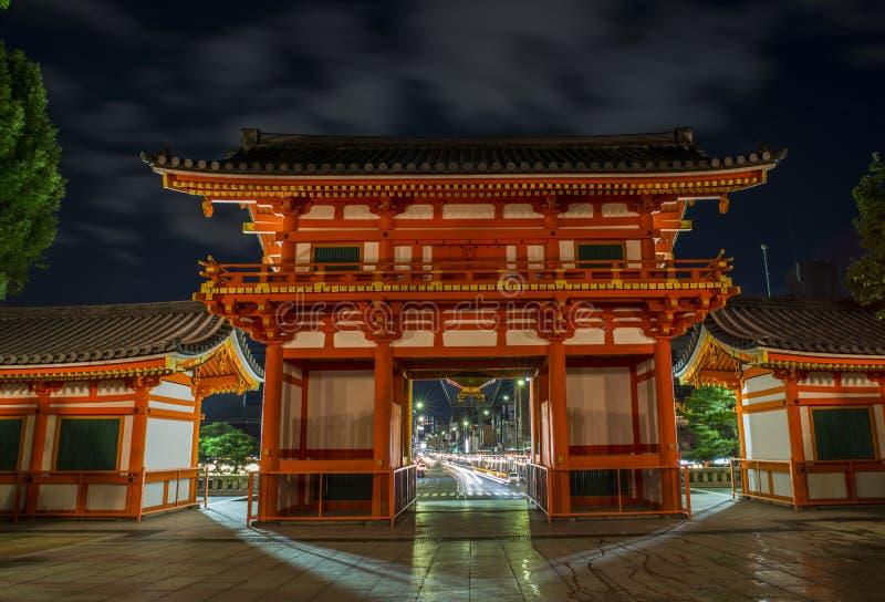 Yasaka寺庙 库存图片