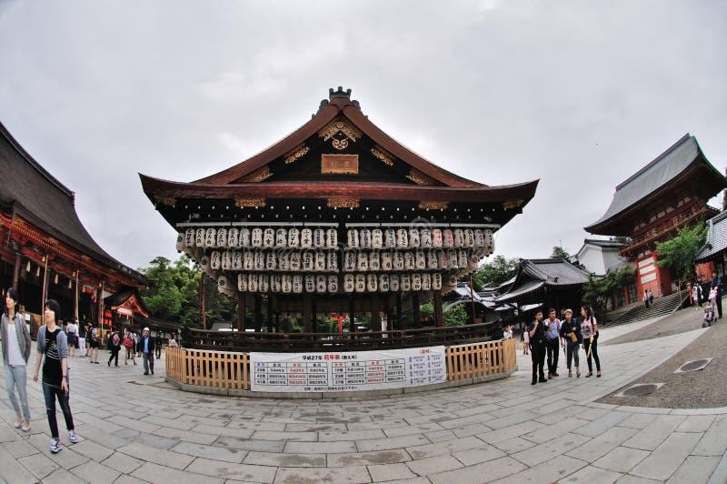 Yasaka Gion Shrine immagine stock libera da diritti
