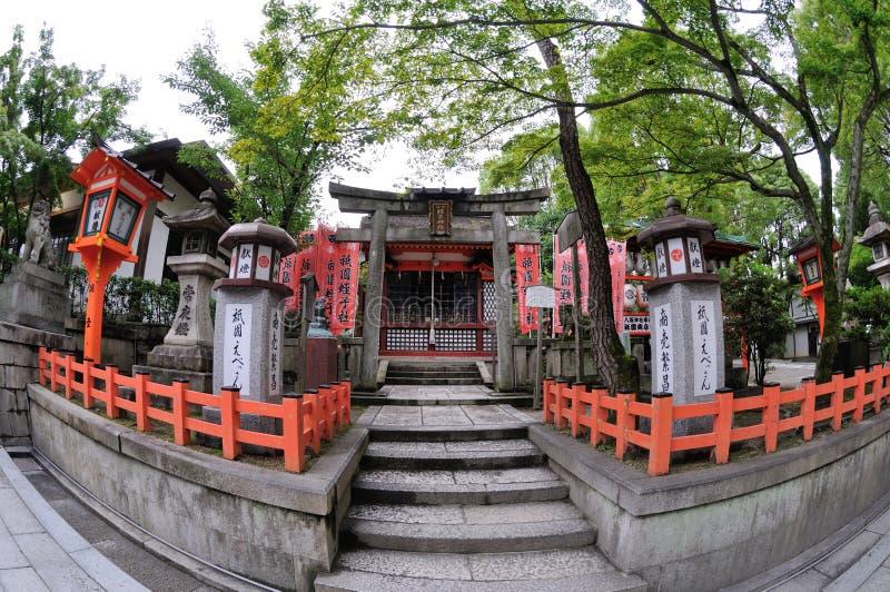 Yasaka Gion Shrine Temple royalty-vrije stock fotografie