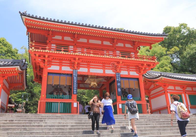 Famous Yasaka Shrine Kyoto Japan royalty free stock images