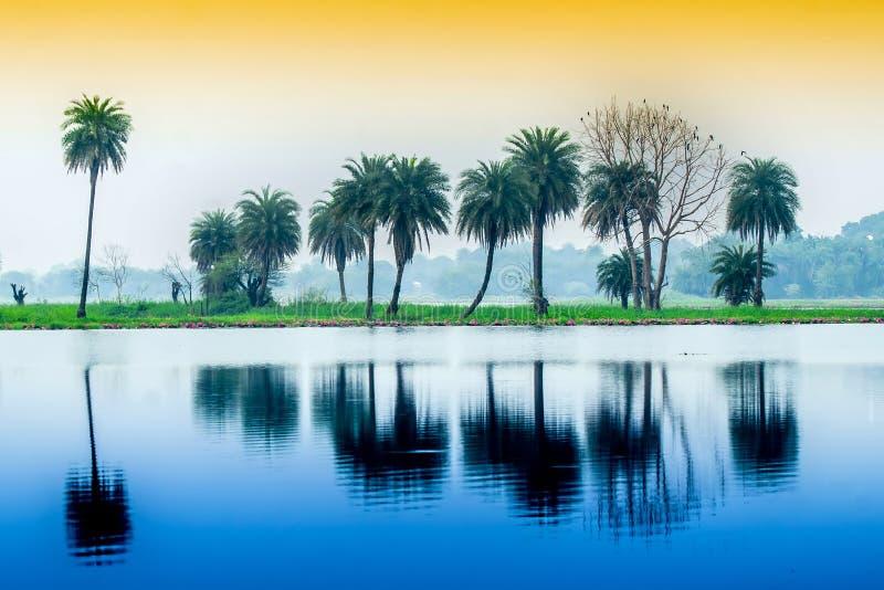 Yashawant sagar, Indore fotografia stock libera da diritti