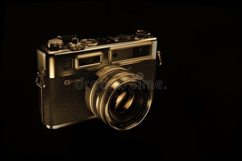 Yashica Electro 35 Illustrative Editorial Photo royalty free stock images