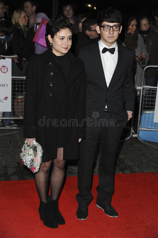 Yasmin Paige, Craig Roberts Editorial Stock Photo