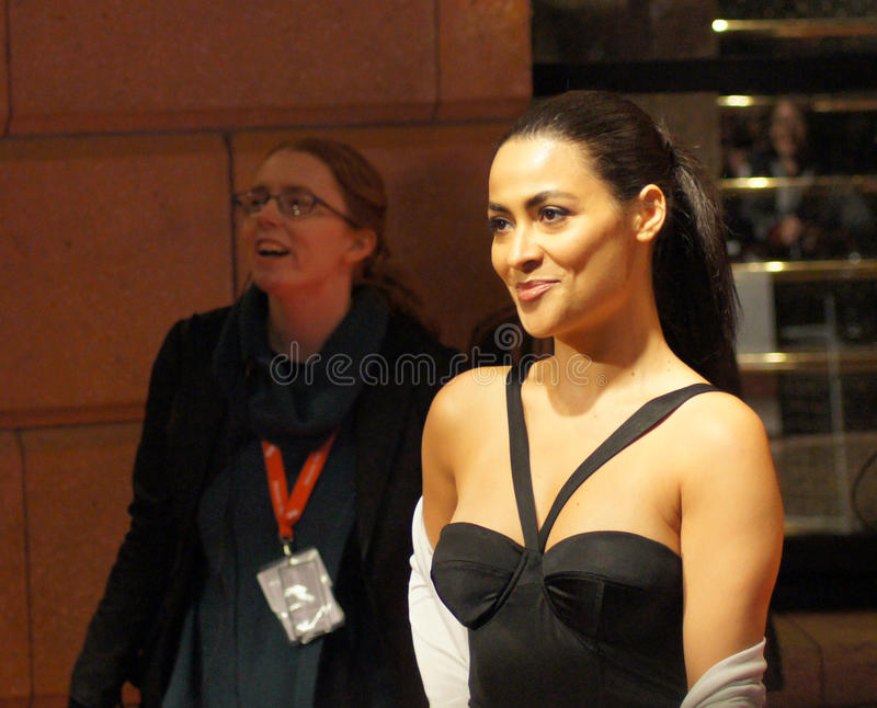 Download Yasmine Elmasri At The Miral Premiere Editorial Stock Photo - Image: 16636033