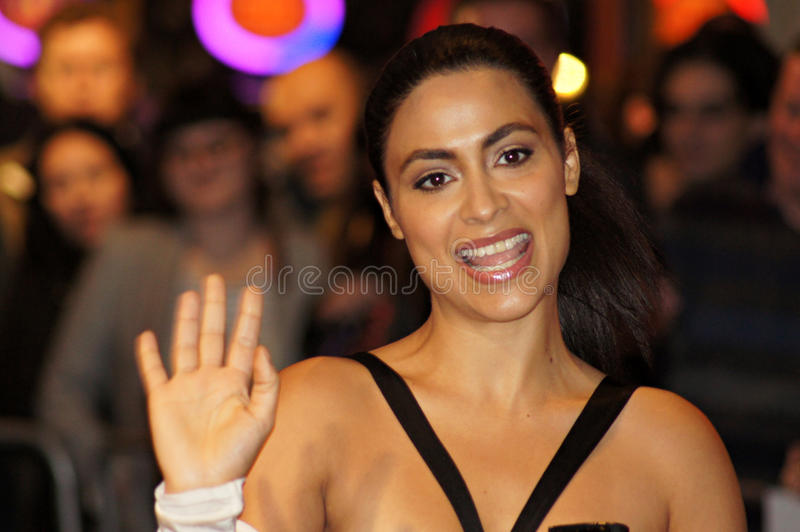 Download Yasmine Elmasri At The Miral Premiere Editorial Stock Photo - Image: 16636048