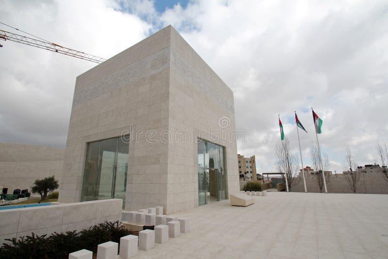 Yasser Arafat tomb arkivfoton