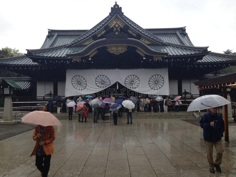 Yasukuniheiligdom royalty-vrije stock fotografie