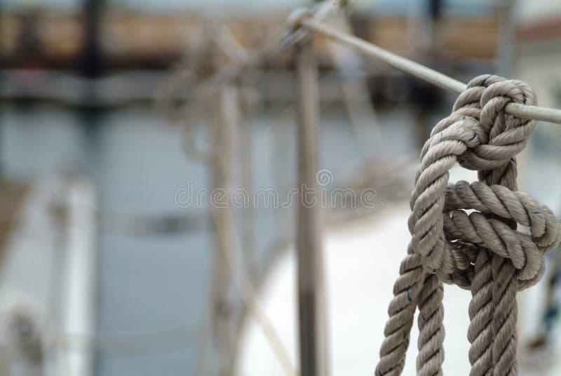 Yatch's knot stock photo