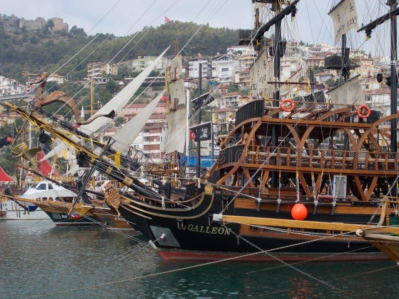 Yate en el Mar Negro imagen de archivo libre de regalías
