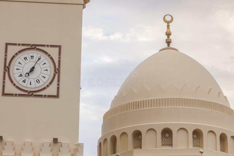 Yateem Mosque in Manama. Manama, Bahrain stock photography