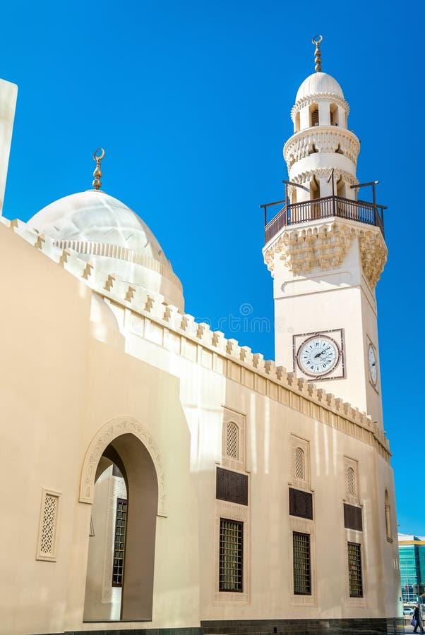 Yateemmoskee in de oude stad van Manama, de hoofdstad van Bahrein royalty-vrije stock afbeeldingen