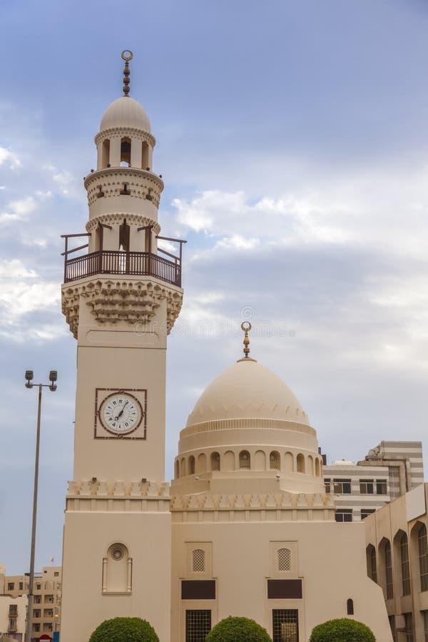 Yateemmoskee in Manama stock afbeeldingen