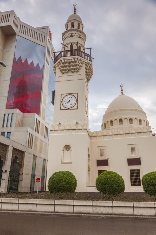 Yateemmoskee in Manama royalty-vrije stock fotografie