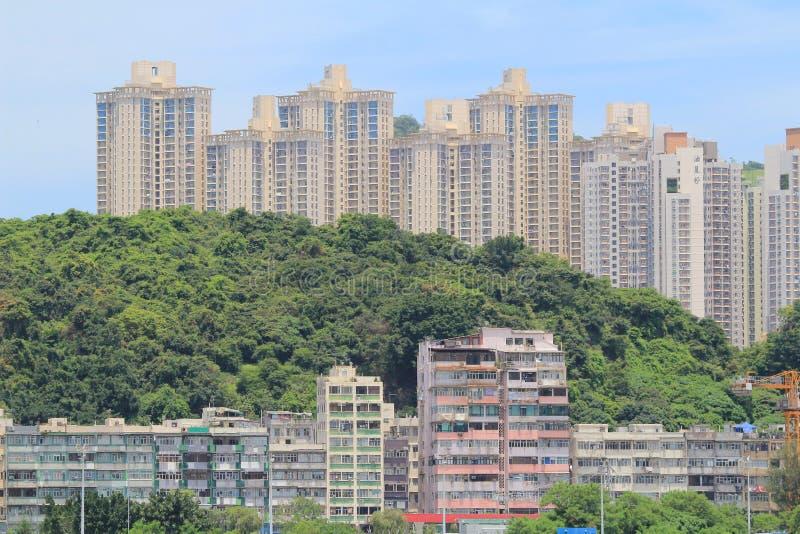 Yau Tong kwun tong przy Hong Kong zdjęcia stock