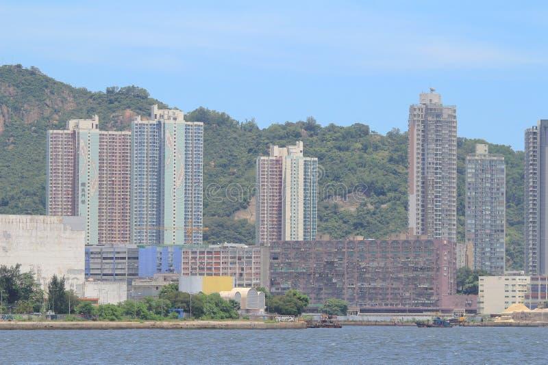 Yau Tong kwun tong przy Hong Kong zdjęcie stock
