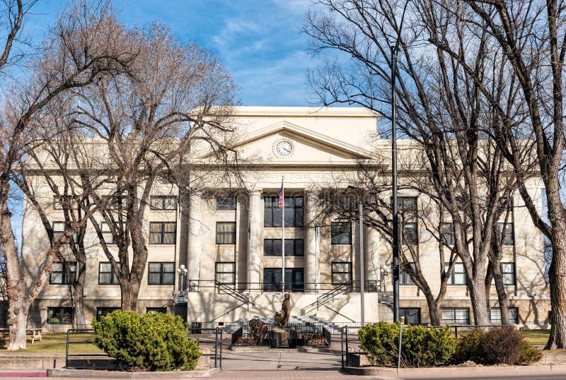 Yavapai okręgu administracyjnego gmach sądu, prescott, Arizona obraz royalty free