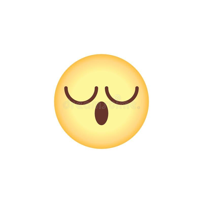 Emoji Yawning Stock Illustrations – 55 Emoji Yawning Stock