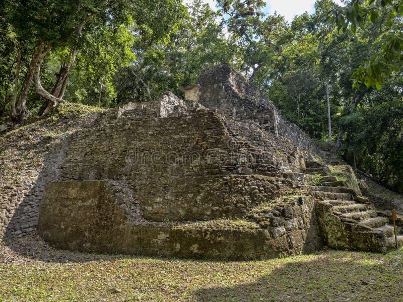 Yaxha Nakum Naranjo National Park, Mayan Archaeological Monument, Guatemala stock images