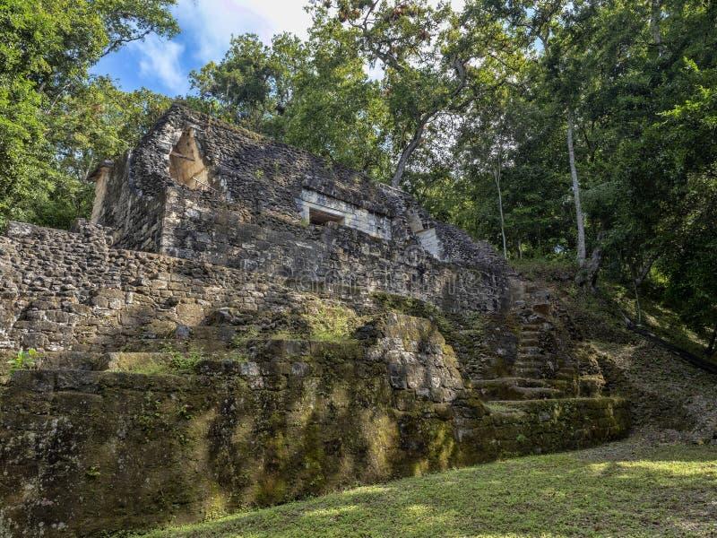 Yaxha Nakum Naranjo National Park, Mayan Archaeological Monument, Guatemala royalty free stock photos