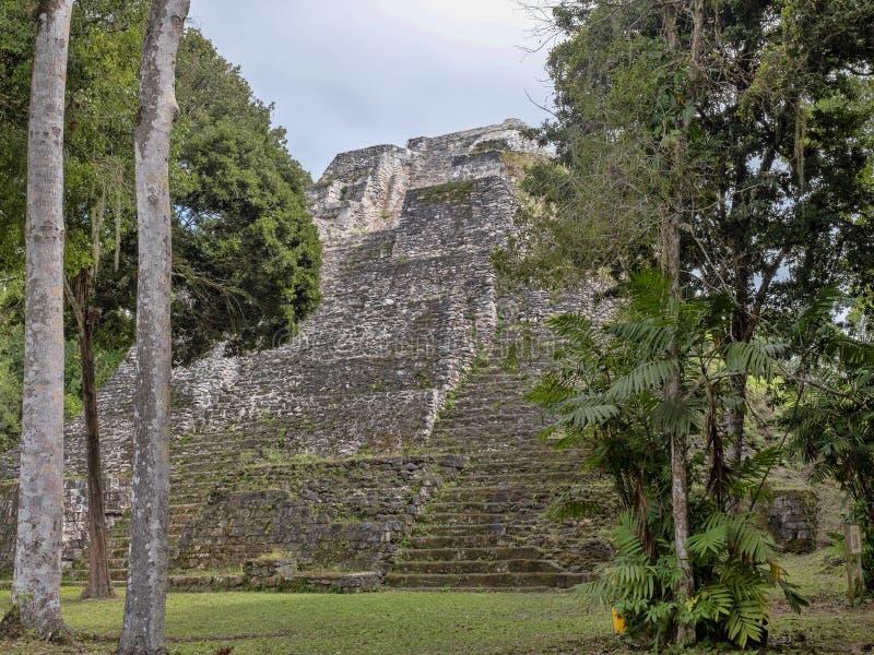 Yaxha Nakum Naranjo National Park, Mayan Archaeological Monument, Guatemala stock photo