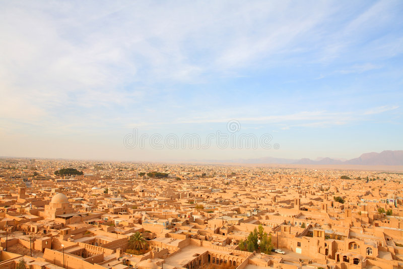 Yazd, Iran fotografia stock