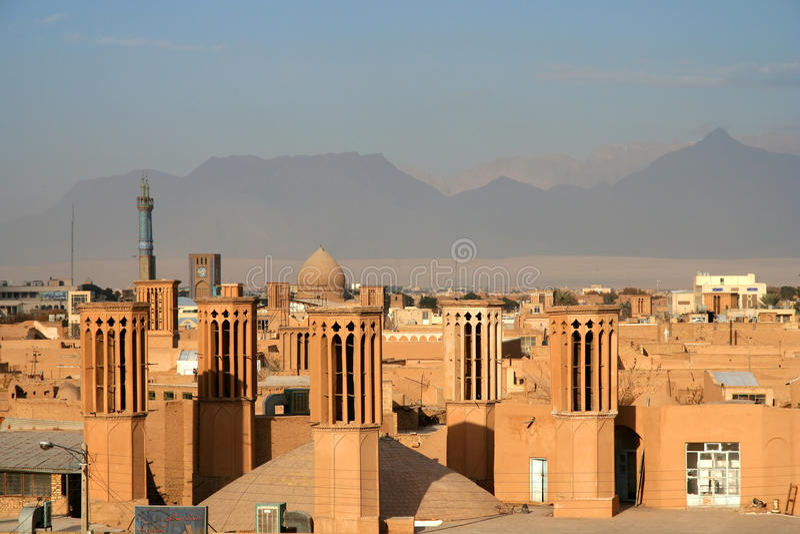 Yazd Stadt lizenzfreies stockfoto
