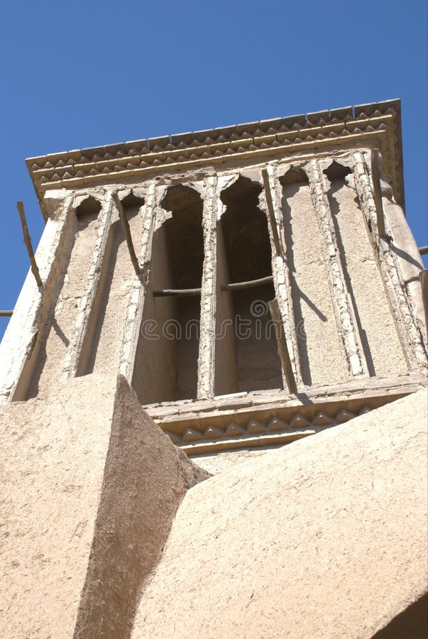 Yazd Wind Catcher Royalty Free Stock Image